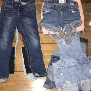 Shorts, Overalls, Jeans